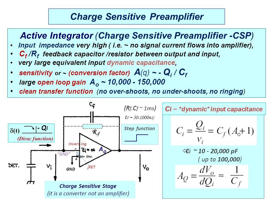 Pulse generator: - Tektronix PG502 modified (less than 700ps rise/fall time) - refurbish PG503 Scope: LeCroy 44Xs (400 Mhz, 2.5 GHz sampling) t r ~ 500 ps jFET, FET, HEMT selection a) jFET, FET BF861 (1,B,C); BF862; BF 889 b) GaAs-FETs (E-pHEMT) ATF-35143; ATF-55143; ATF-38143 c) I drain, V drain  to optimize the noise & bandwidth characteristics (10-15 mA, 2-2.7 V, 20-30mW) G.