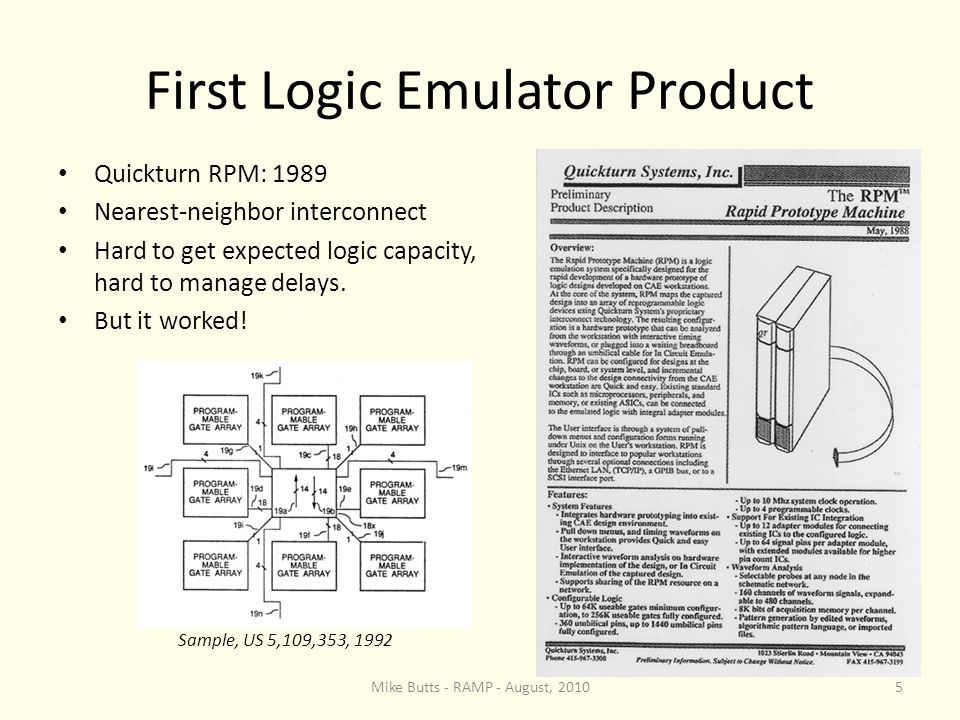 Emulator User Psychology Emulators were often hard to use, especially in the early days.