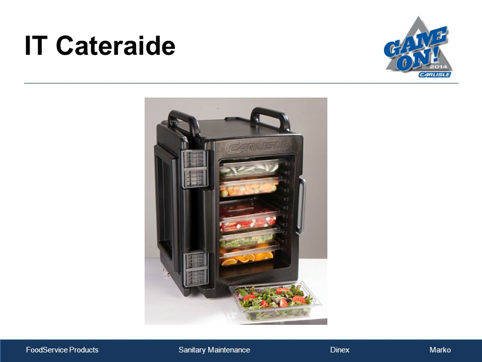 FoodService Products Sanitary Maintenance Dinex Marko IT Cateraide