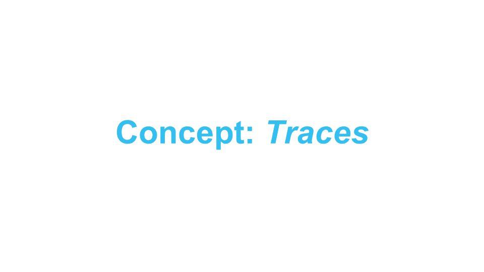 Concept: Traces
