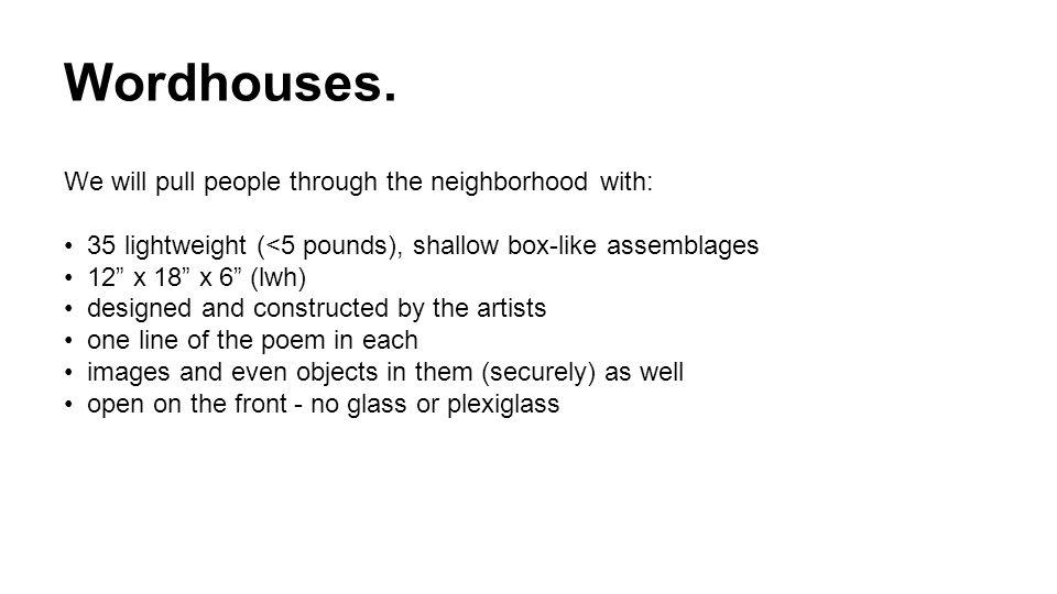 Wordhouses.