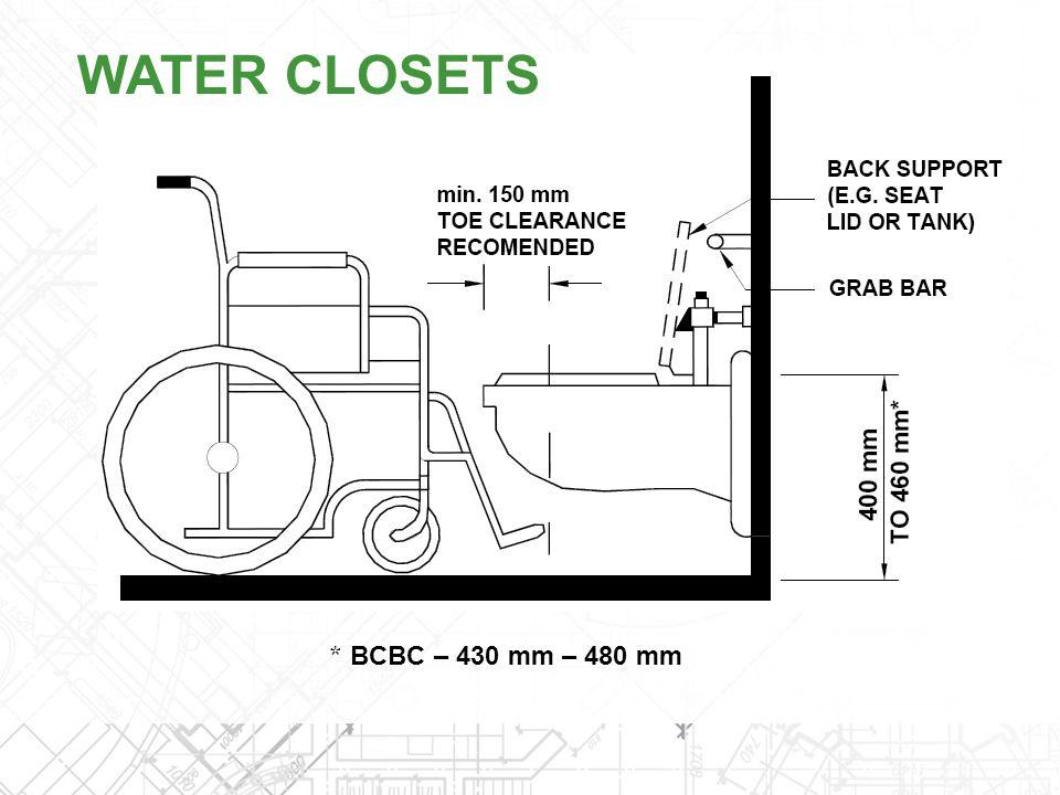 * BCBC – 430 mm – 480 mm