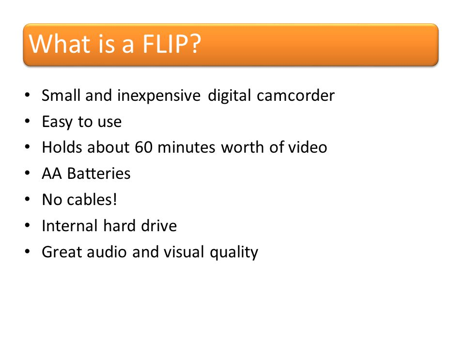 What is a FLIP.