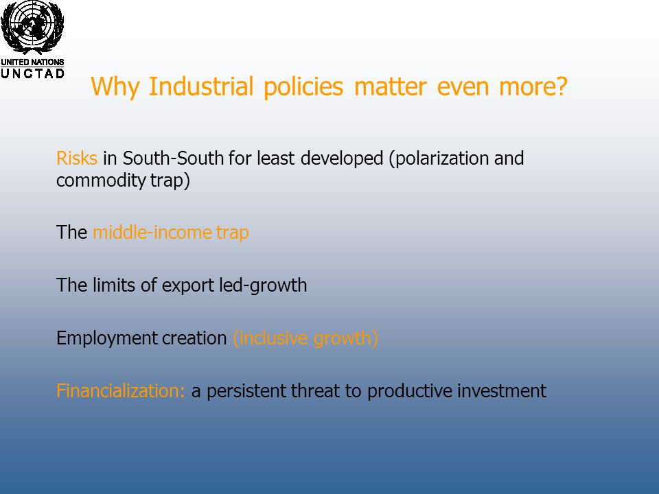 Why Industrial policies matter even more.