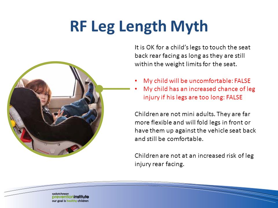 Other RF Car Seat Myths Rear Facing makes kids car sick.