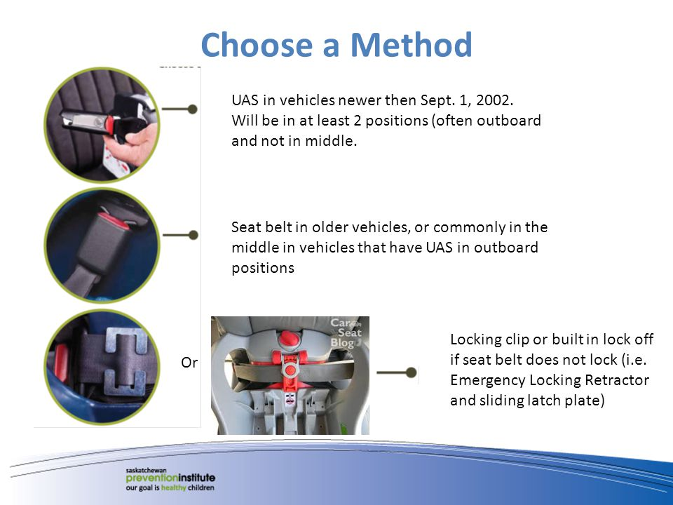 Choose a Method UAS in vehicles newer then Sept. 1, 2002.