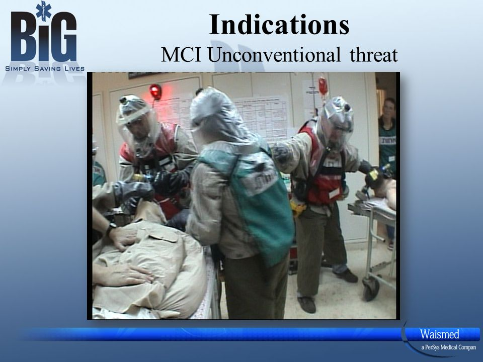 Indications MCI Unconventional threat