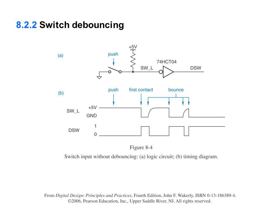8.2.2 Switch debouncing