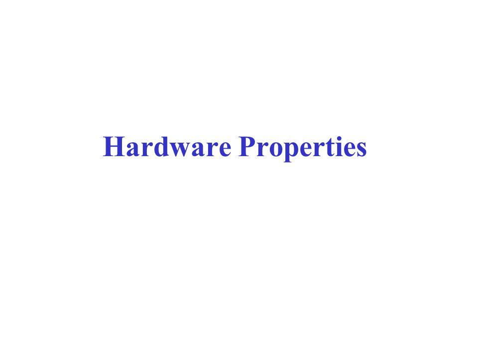 Hardware Properties