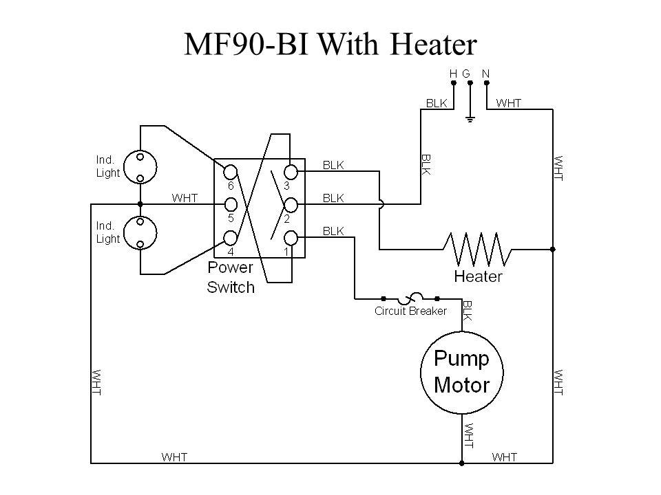 MF90-BI With Heater