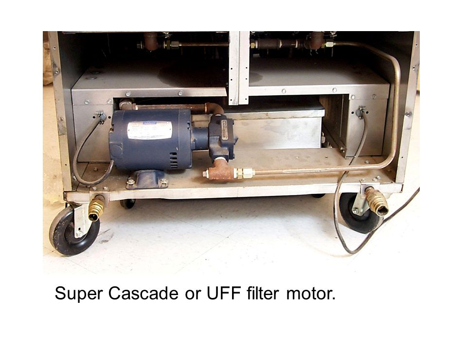 Super Cascade or UFF filter motor.