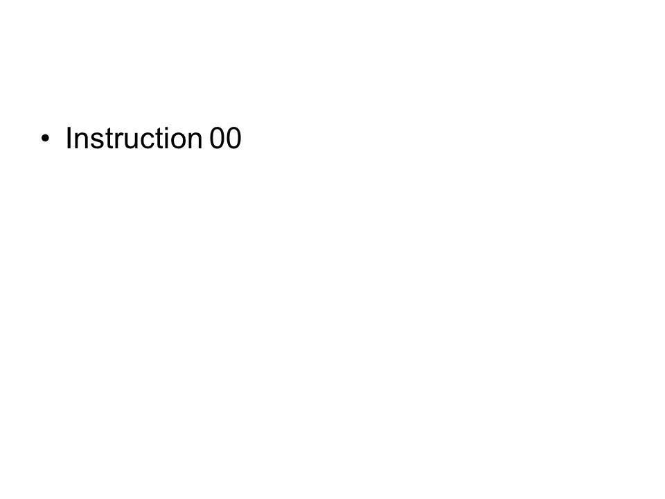 Instruction 00