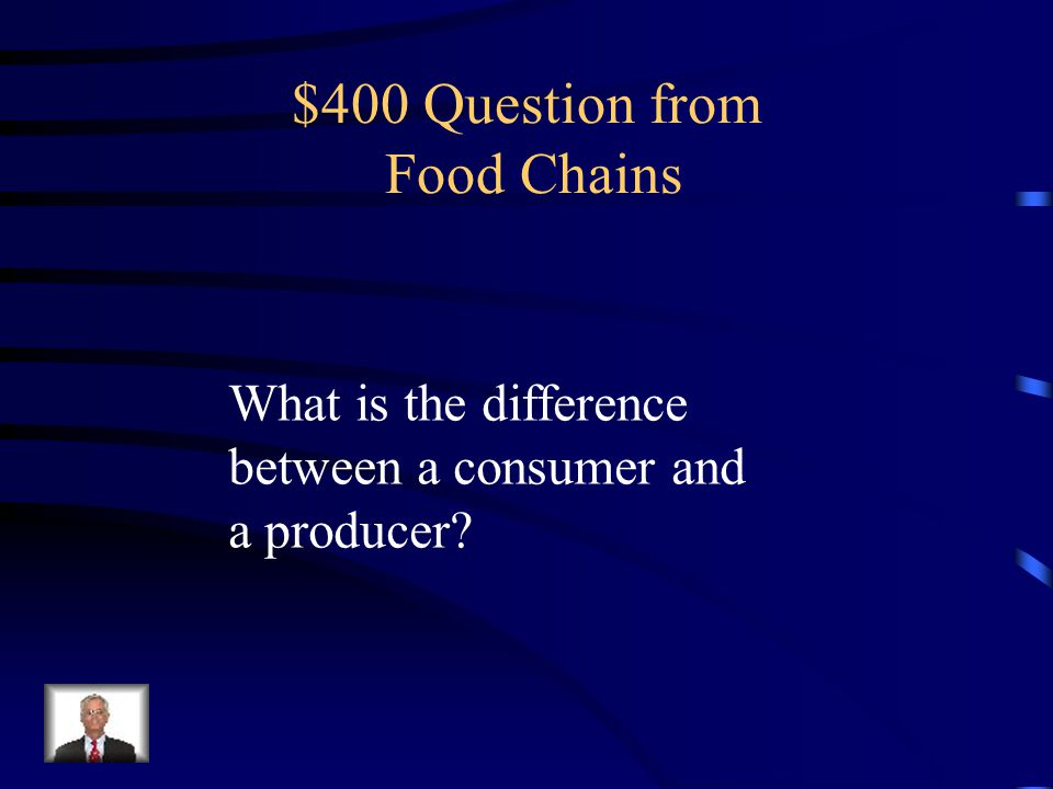$300 Answer from Food Chains lion