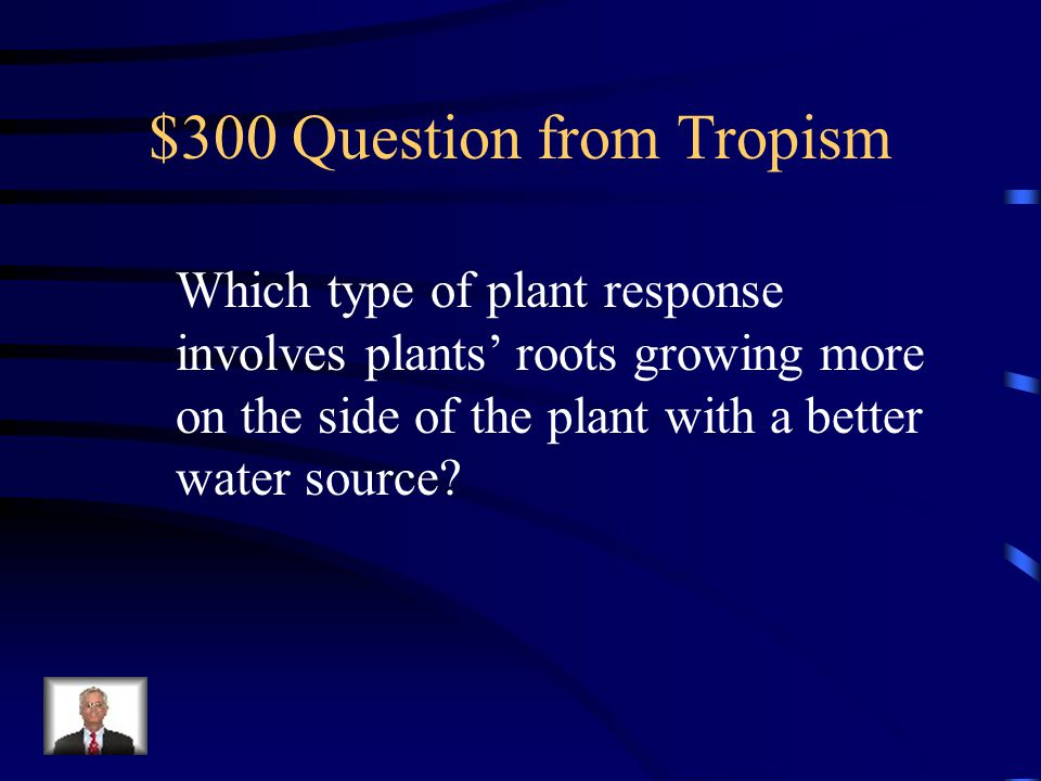 $200 Answer from Tropism thigmotropism