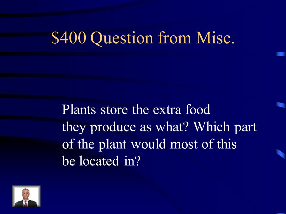 $300 Answer from Misc. transpiration