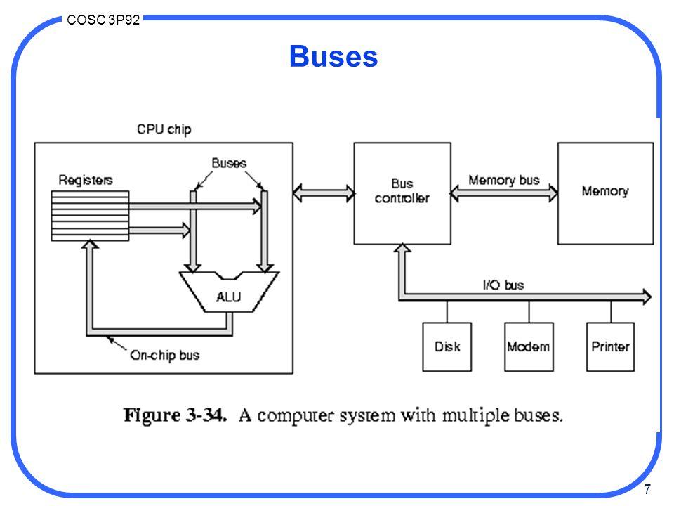 68 COSC 3P92 VME bus VME Bus Description http://www.interfacebus.com/Design_Connector_VME.html The VME bus is a scalable backplane bus interface.