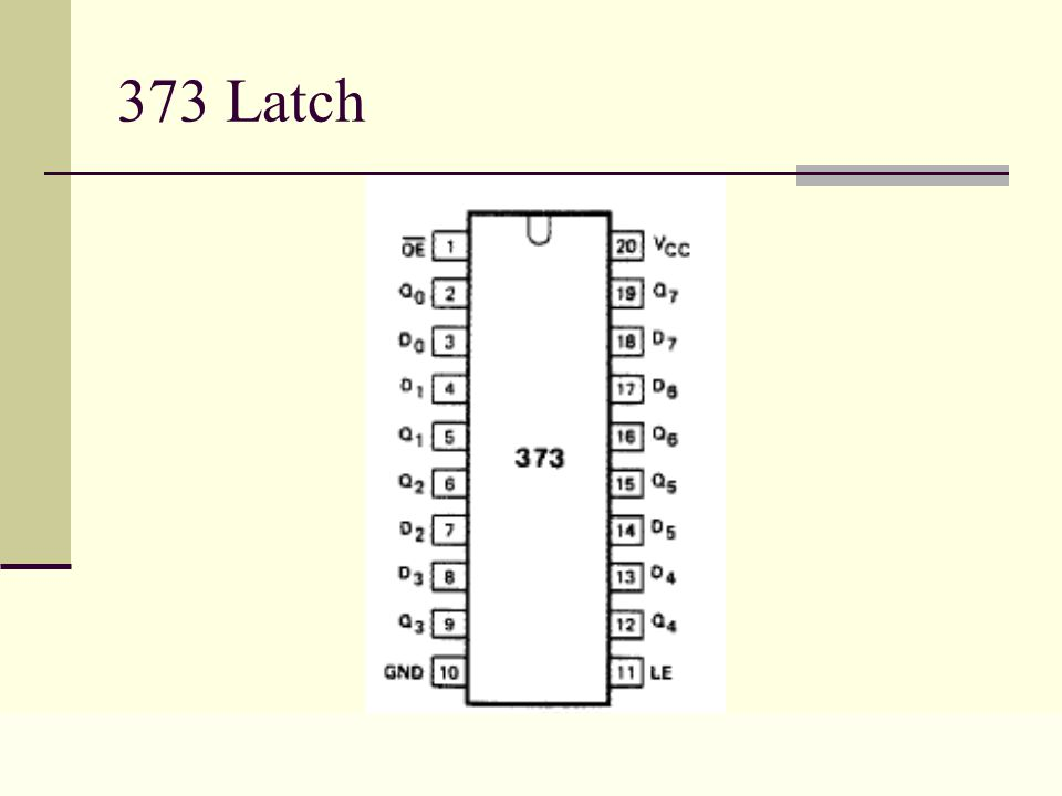Lecture 0222 373 Latch