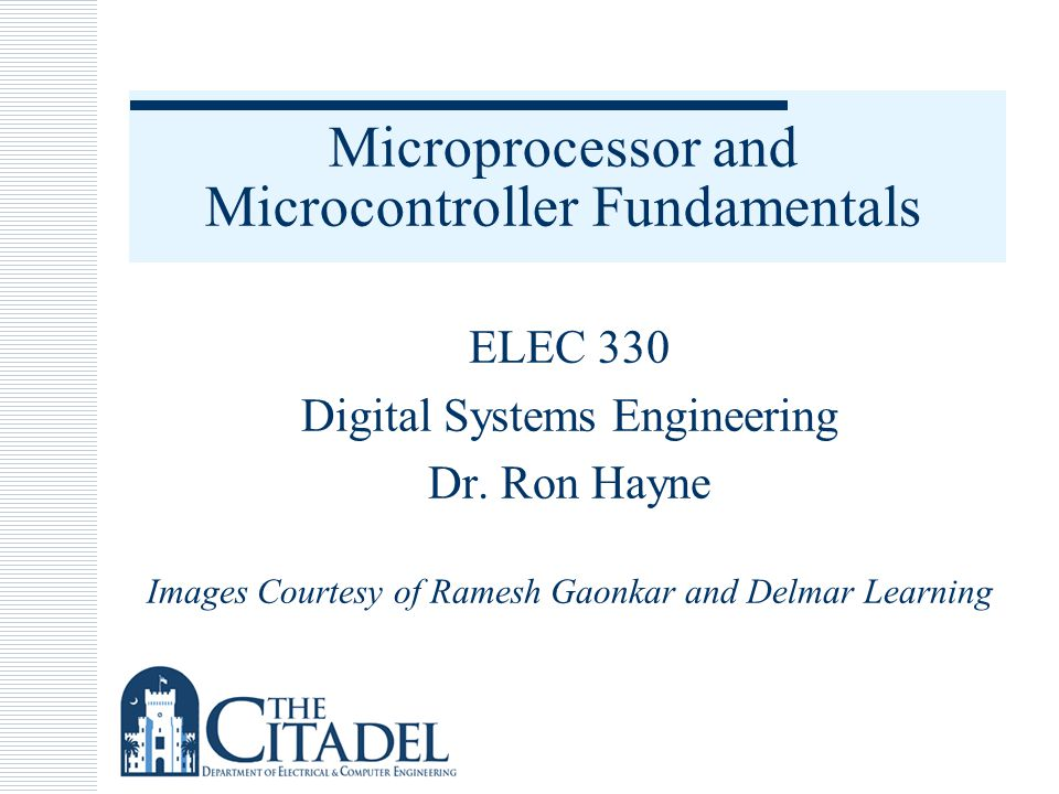 Example Microprocessor System 12330_01