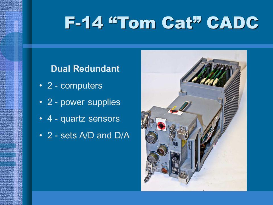 """F-14 """"Tom Cat"""" CADC Dual Redundant 2 - computers 2 - power supplies 4 - quartz sensors 2 - sets A/D and D/A"""
