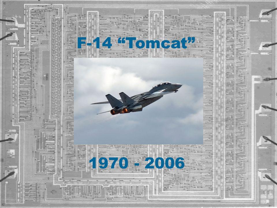 """1970 - 2006 F-14 """"Tomcat"""""""