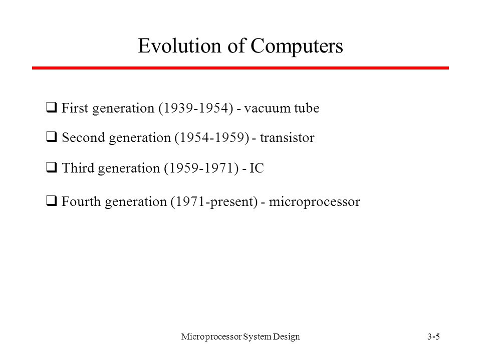 Microprocessor System Design3-4 What are microprocessors.