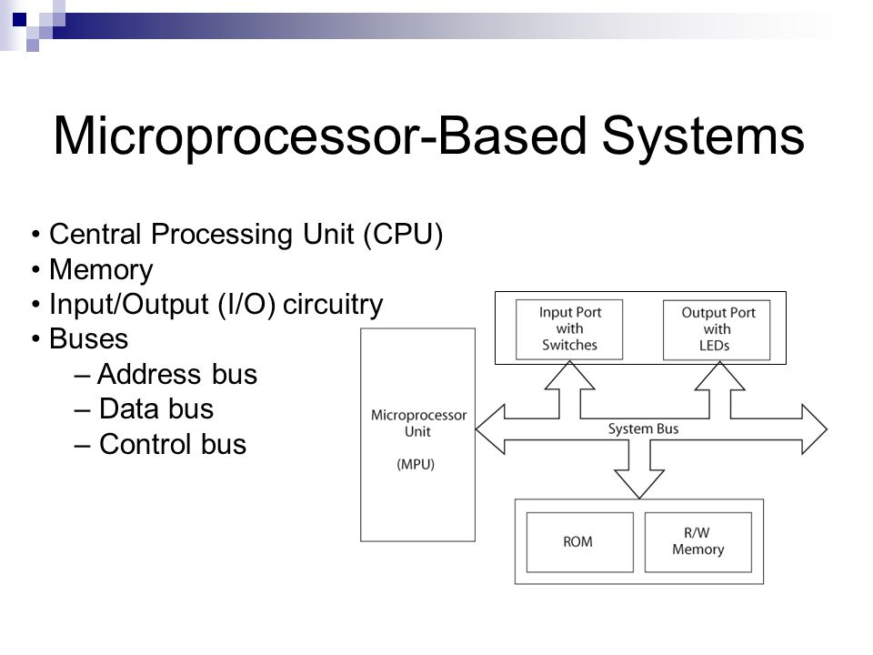 So what are microcontrollers?