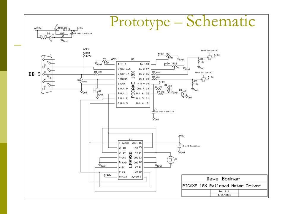 Prototype – Schematic