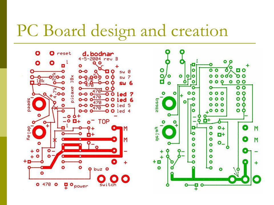 PC Board design and creation
