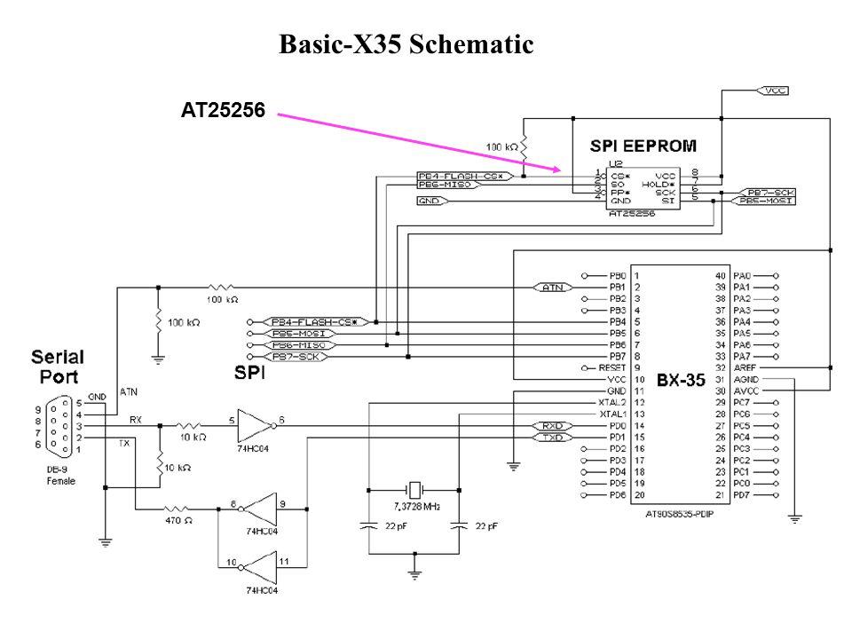 Basic-X35 Schematic AT25256