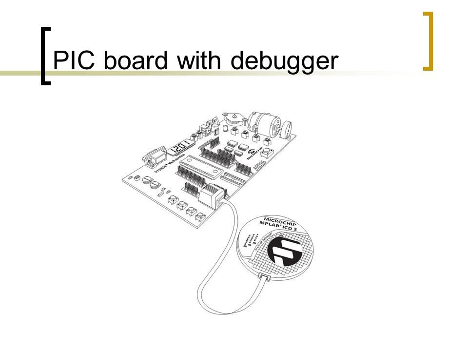 PIC board with debugger