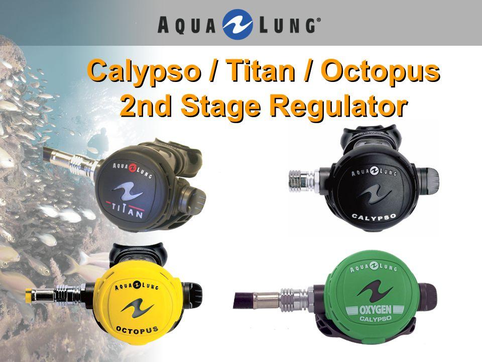 Calypso / Titan / Octopus 2nd Stage Regulator