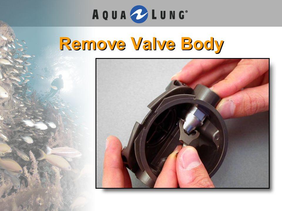 Remove Valve Body