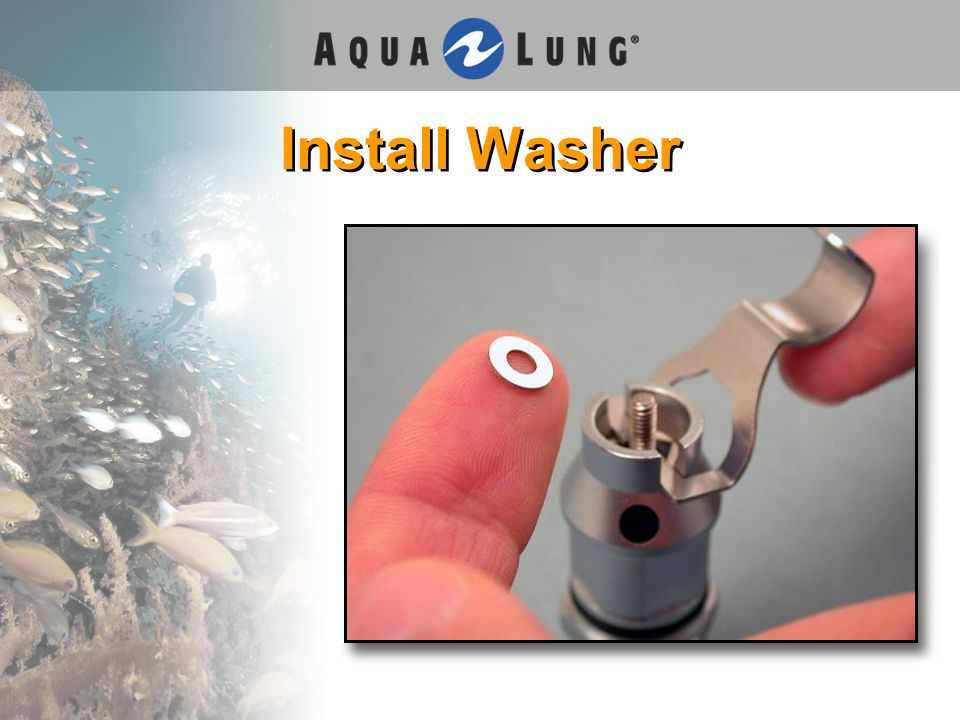 Install Washer
