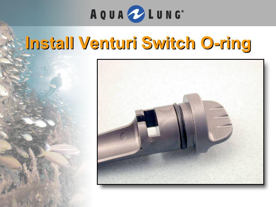 Install Venturi Switch O-ring