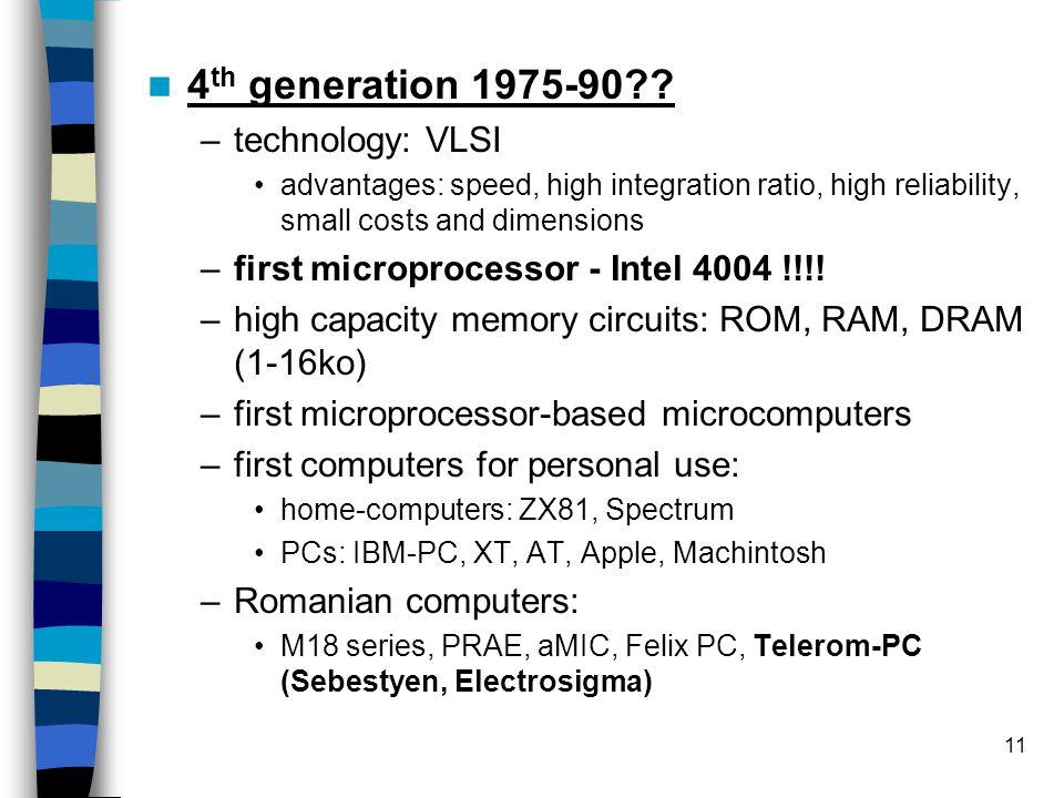 11 4 th generation 1975-90 .