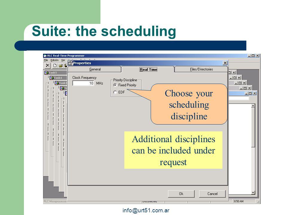 Suite: the task progr.