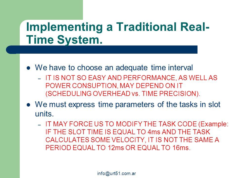 info@urt51.com.ar Defining a Real-Time System.