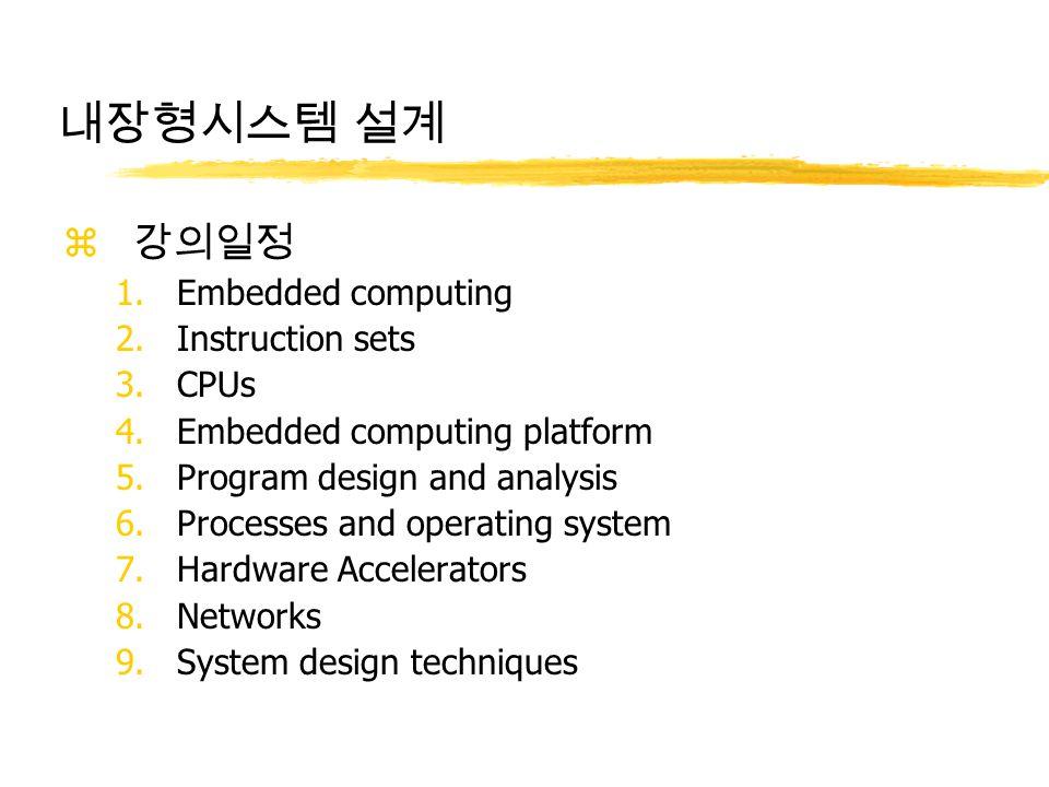 임베디드 소프트웨어 산업의 발전 동향