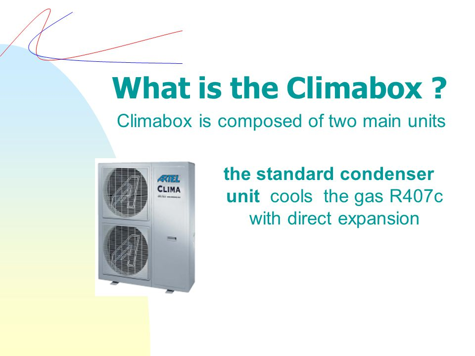 What is the Climabox .