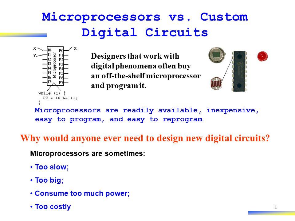 1 Microprocessors vs.
