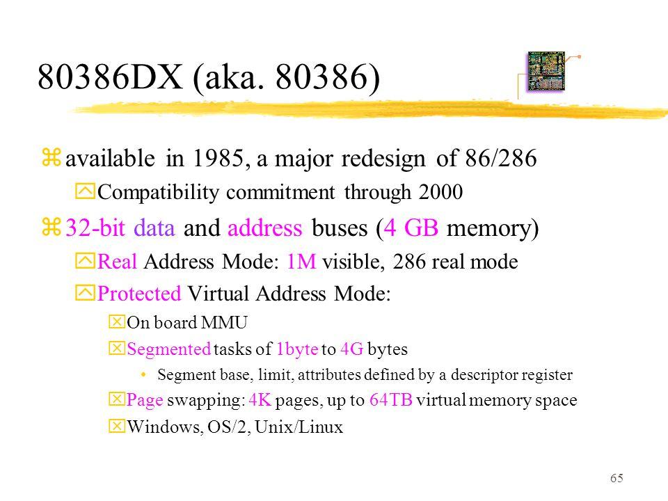 65 80386DX (aka.