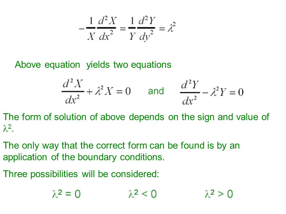 Rearranging above equation gives Both sides of the equation should be equal to a constant say l 2