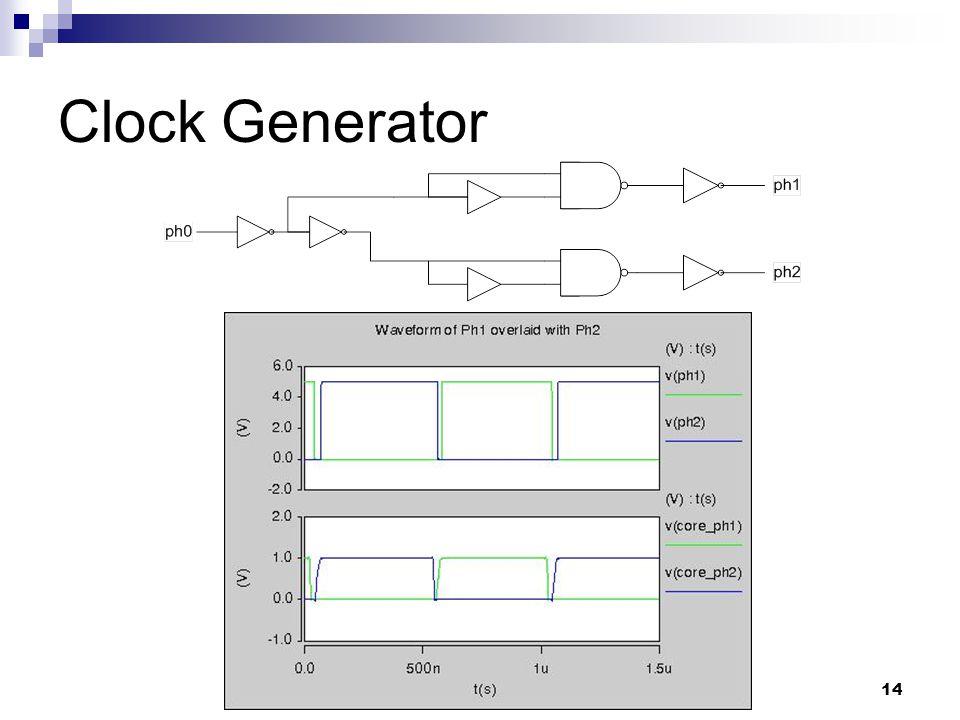 14 Clock Generator