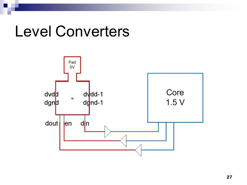 27 Level Converters