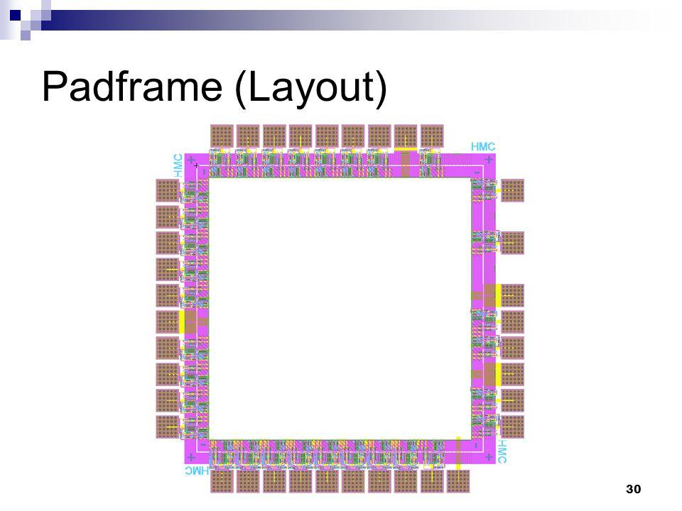 30 Padframe (Layout)