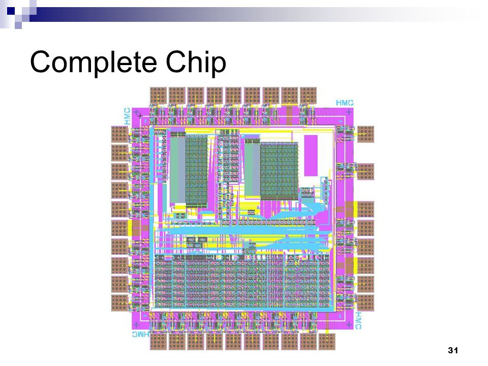 31 Complete Chip