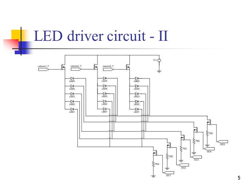 5 LED driver circuit - II