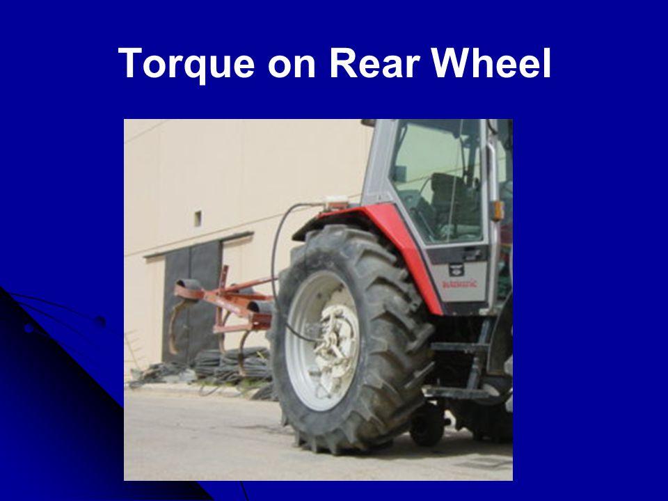 Torque on Rear Wheel