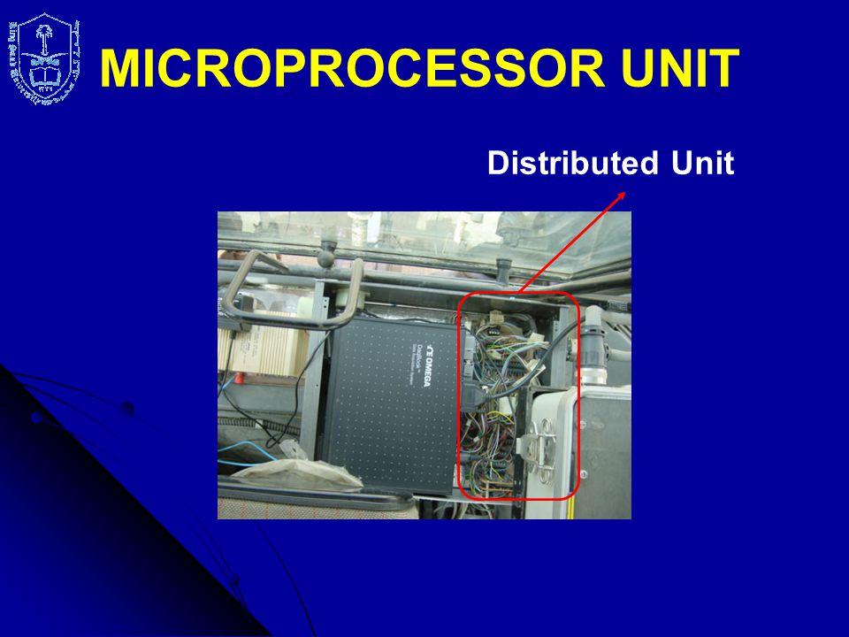 Distributed Unit MICROPROCESSOR UNIT