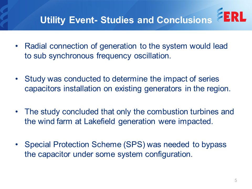 Summary of S-PRO Capabilities Protection against SSR problems in both Wind and Synchronous generator systems or any combined cycle plant.